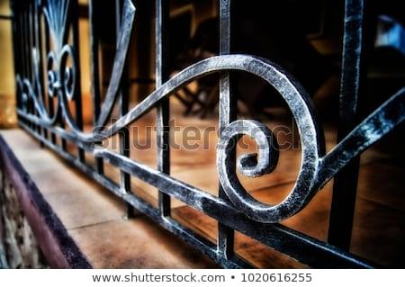 Wrought iron background Stock photo © dutourdumonde