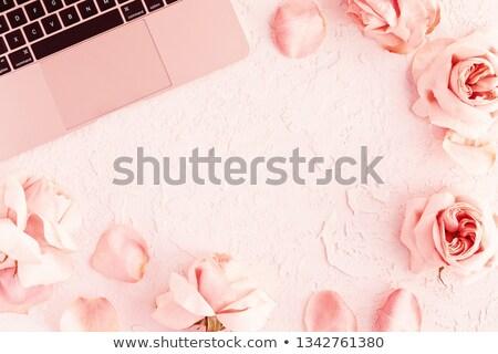 Biuro miłości sprawa kobieta interesu kierownik pracy Zdjęcia stock © photosebia