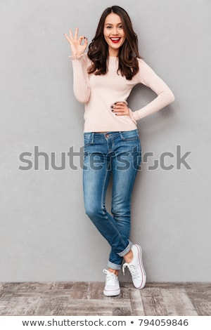 woman posing Stock photo © grafvision