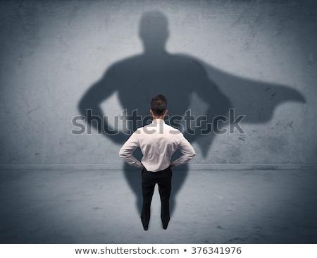 セールスマン ポインティング 写真 顔 男 ストックフォト © sumners