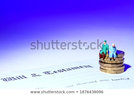 paar · vergadering · kant · 3d · illustration · bank · ballon - stockfoto © photography33
