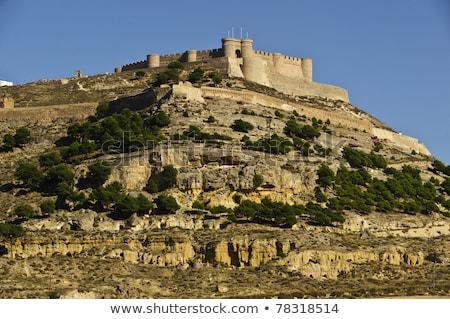 Chinchilla château entrée bâtiment pierre histoire Photo stock © Procy