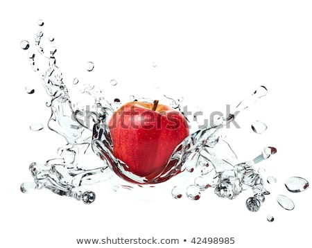 Apple causing water splash Stock photo © ozaiachin