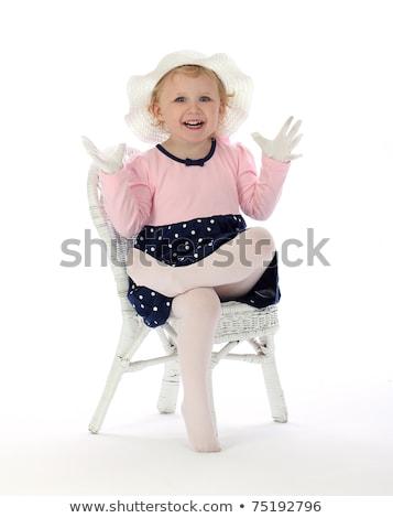 kız · çorap · resim · kadın - stok fotoğraf © dolgachov
