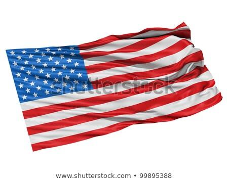 Detallado 3d bandera de Estados Unidos ordenador estrellas Foto stock © wavebreak_media
