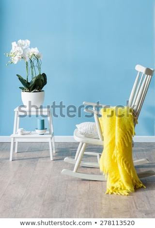 стульев крыльцо дома виноградник здании древесины Сток-фото © grivet