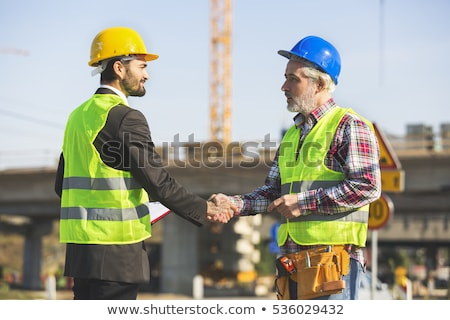 Manual workers shaking hands Stock photo © photography33