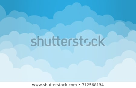 clouds frame background Stock photo © sirylok