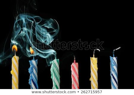 Blown smoke Stock photo © Tawng