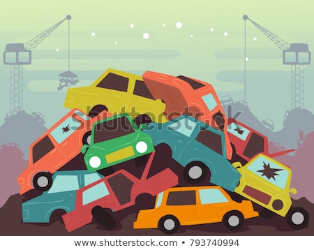 Auto Scrap Stock photo © smuki
