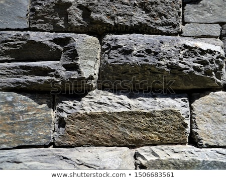 каменной стеной подробность исторический руин паломничество Церкви Сток-фото © prill