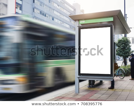 Bus station Stock photo © zzve