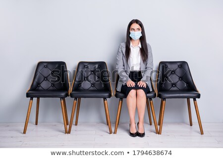 Stock photo: Waiting for an interview
