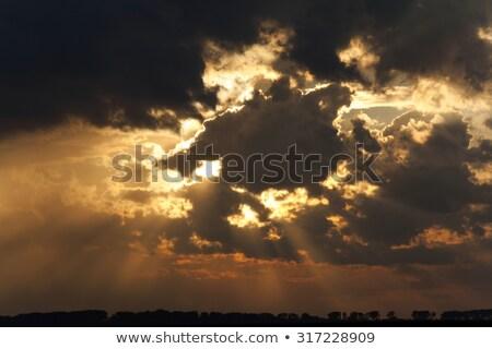 雲 · 異なる · サイズ · 空 · 風景 · ウィンドウ - ストックフォト © lillo