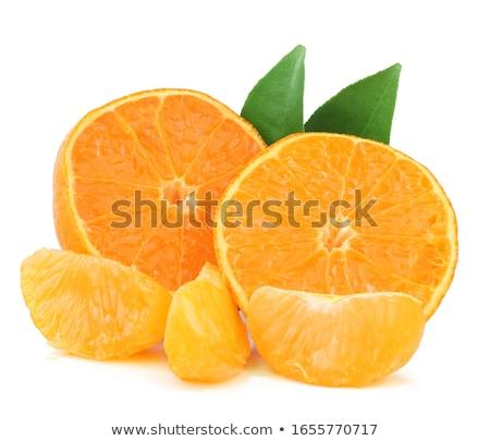oranje · mandarijn · voedsel · vruchten · ontbijt · vers - stockfoto © M-studio