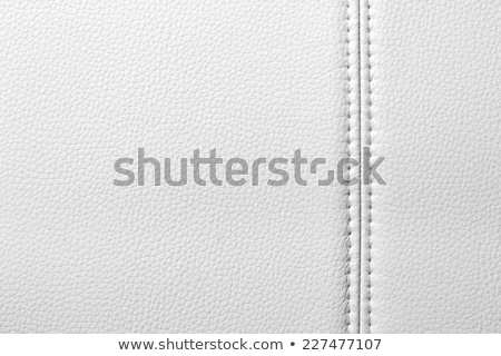 Closeup of a leather with seam texture or background Stock photo © simpson33