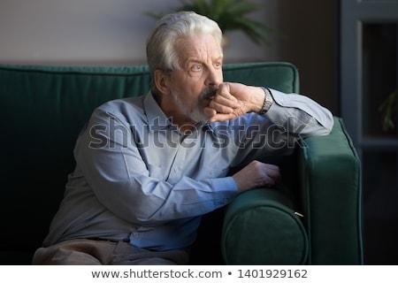 зрелый разведенный человека вновь мало Сток-фото © songbird