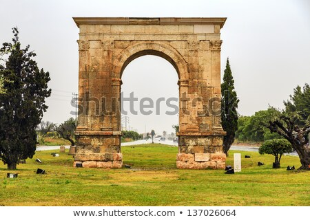 дуга древних римской арки мнение Мир Сток-фото © nito