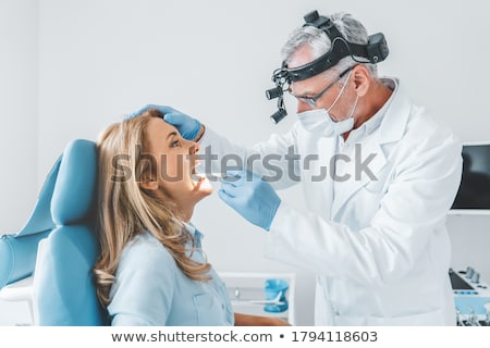 Throat exam Stock photo © ichiosea