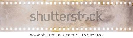 Stockfoto: Filmstrip · collage · meisje · glimlach · mode · achtergrond