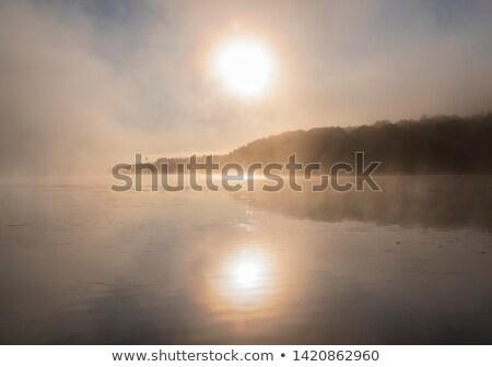 Güzel buğu nehir Quebec Kanada Stok fotoğraf © bmonteny
