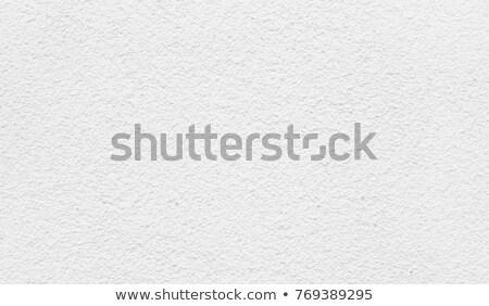 Wysoko szczegółowy gipsu ściany biały tekstury Zdjęcia stock © creisinger