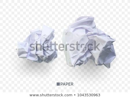 бумаги · мяча · мусор · бизнеса · служба - Сток-фото © valeriy