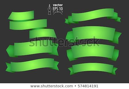 Photo stock: Vert · décoration · signe · peinture