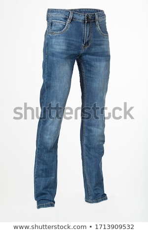 Jeans witte Blauw nieuwe textuur achtergrond Stockfoto © Valeriy