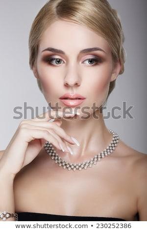 Portrait jeunes blond visage cheveux beauté Photo stock © gromovataya