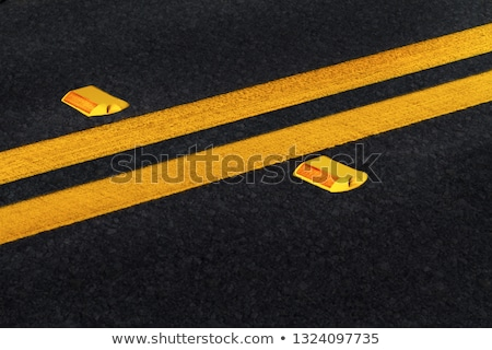 Road reflector lane marker Stock photo © njnightsky
