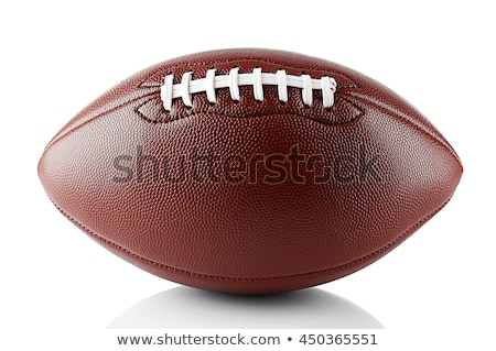 pump and football balls isolated Stock photo © ozaiachin