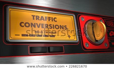 движения отображения торговый автомат машина продажи Сток-фото © tashatuvango