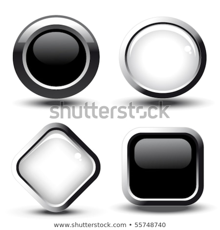 New Collection Glossy Shiny Circular Vector Button Stock photo © rizwanali3d