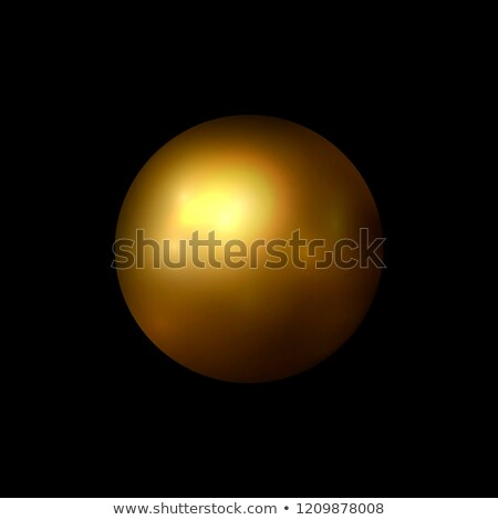 Christmas balls and yellow abstract background. RASTER VERSION Stock photo © Valeriy