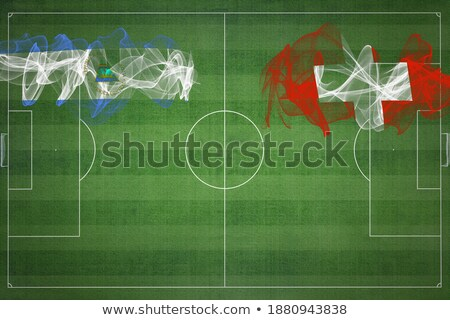 Switzerland and Nicaragua Flags Stock photo © Istanbul2009