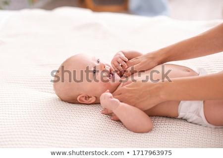 Baby's arm Stock photo © deyangeorgiev