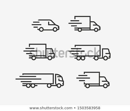貨物 ワゴン 行 アイコン ウェブ 携帯 ストックフォト © RAStudio