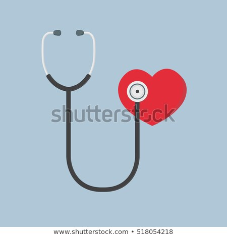 Listening Hearth With A Stethoscope  Stock photo © MilanMarkovic78