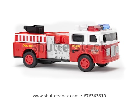 Red Fire Truck Toy Stock photo © AlphaBaby