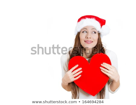 Beautiful Russian girl with hope chest Stock photo © svetography