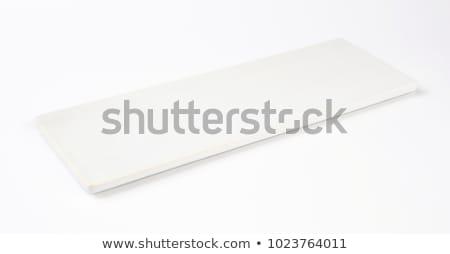 Piazza porcellana piatto bianco clean moderno Foto d'archivio © Digifoodstock