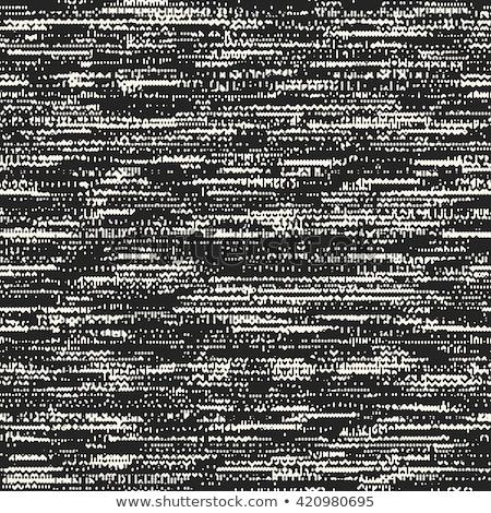 Vetor monocromático orgânico linhas abstrato Foto stock © TRIKONA