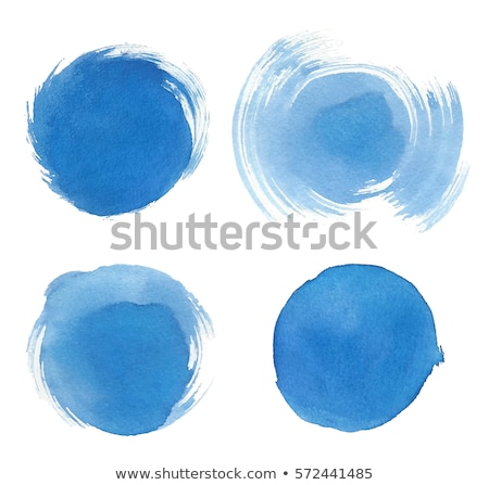 Colorful round watercolor stains  Stock photo © PiXXart
