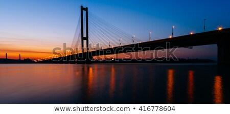 Southern Bridge in Kiev Stock photo © joyr