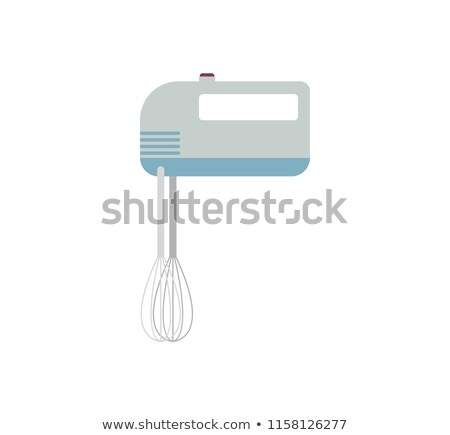 mixer kitchen utensils isolated device for cream churning stock photo © maryvalery
