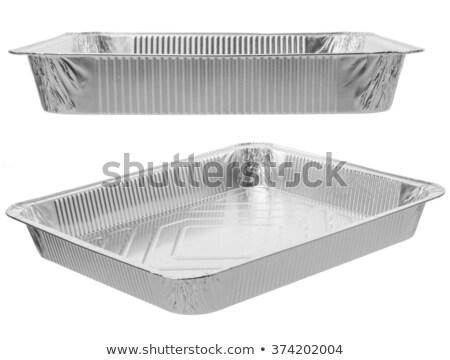 Aluminum foil baking pan Stock photo © Digifoodstock