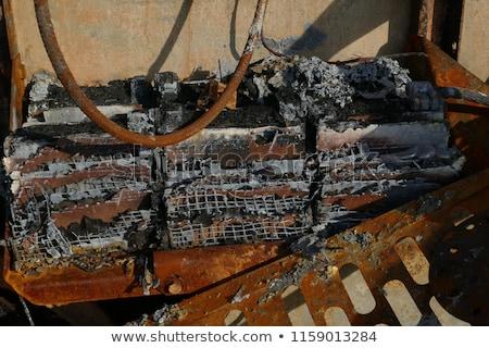 brand · wiel · abstract · ontwerp · technologie · achtergrond - stockfoto © digifoodstock