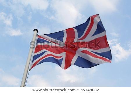 британский Союза стандартный флаг небе Сток-фото © IS2