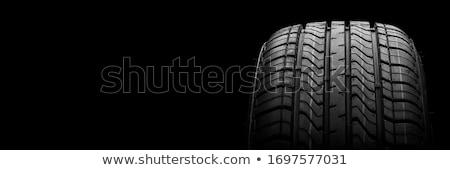Carro pneu preto textura fundo raça Foto stock © Fesus